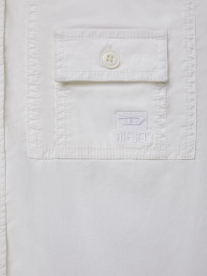 Diesel - S-ALLEN-KA, Weiß - Hemden - Image 4