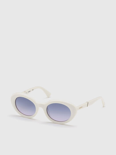 Diesel - DL0281, Weiß - Sonnenbrille - Image 2
