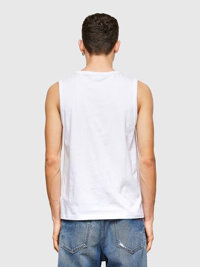 Diesel - T-OPPY, Bianco - T-Shirts - Image 2
