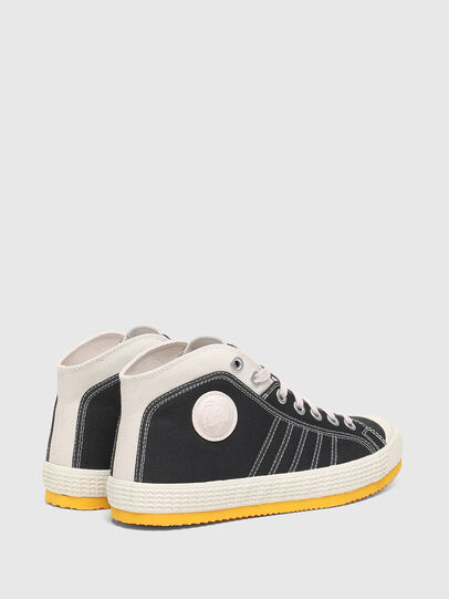 Diesel - S-YUK MC, Schwarz/Gelb - Sneakers - Image 3