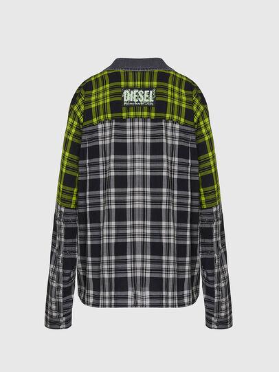 Diesel - C-NILLA, Schwarz/Weiss - Hemden - Image 2