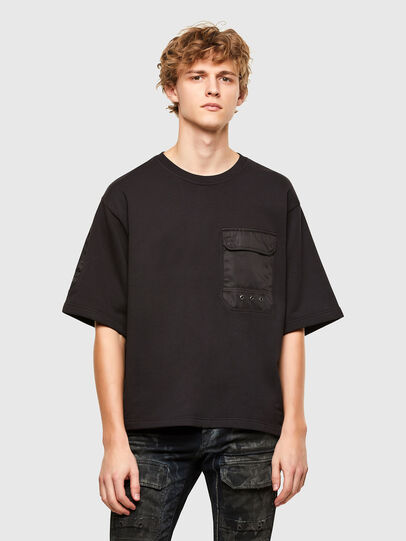 Diesel - T-DOLFY, Schwarz - T-Shirts - Image 1