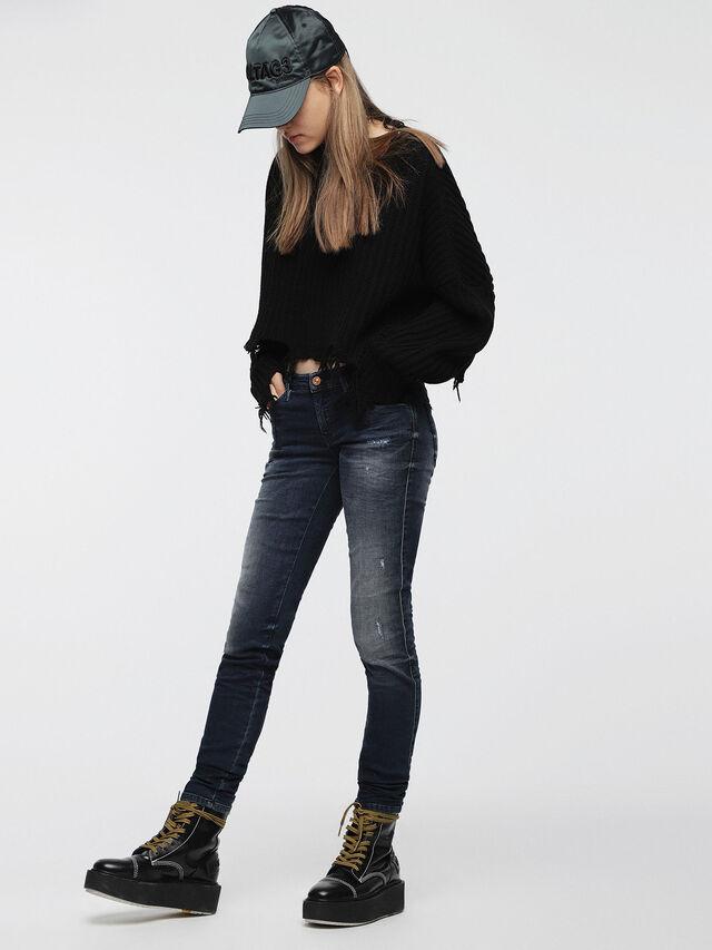 Diesel Gracey JoggJeans 0686W, Dunkelblau - Jeans - Image 3