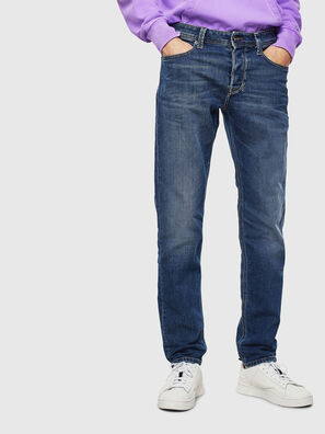 Larkee-Beex 0096E, Mittelblau - Jeans