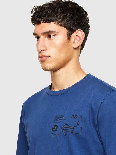 Diesel - T-JUST-A39, Blu - T-Shirts - Image 3