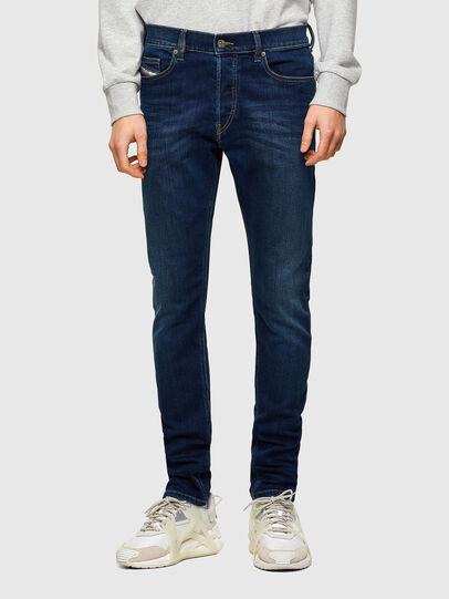 Diesel - D-Luster 009ML, Blu Scuro - Jeans - Image 1