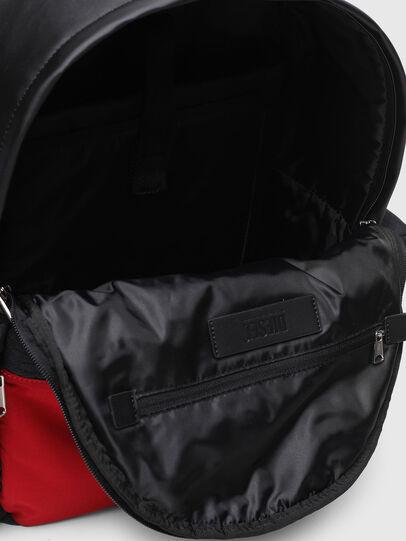 Diesel - YBEX, Black/Red - Backpacks - Image 4