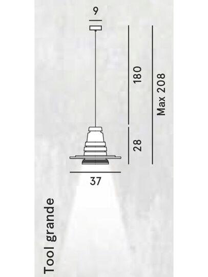 Diesel - TOOL GRANDE SOSP,  - Pendellampen - Image 2