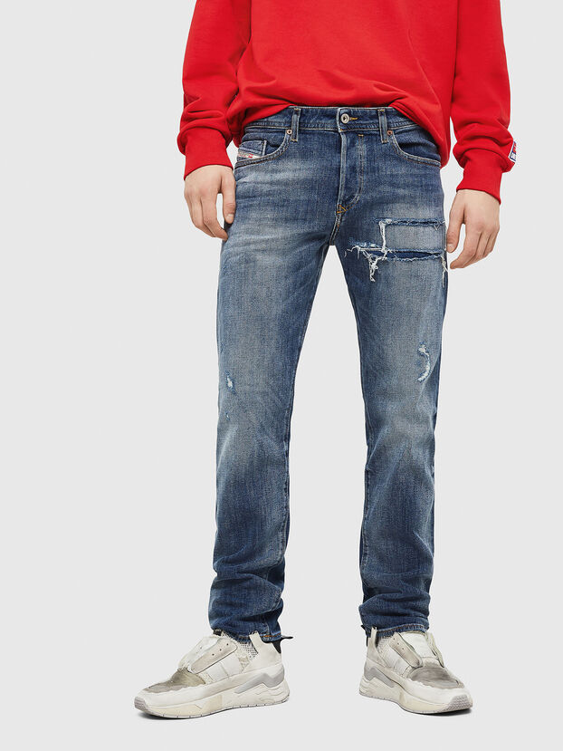 Buster 0890X, Mittelblau - Jeans