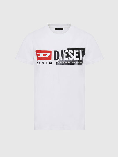 Diesel - T-SILY-CUTY, Blanc - T-Shirts - Image 1