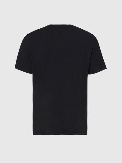 Diesel - T-JUBIND-SLITS, Schwarz - T-Shirts - Image 2