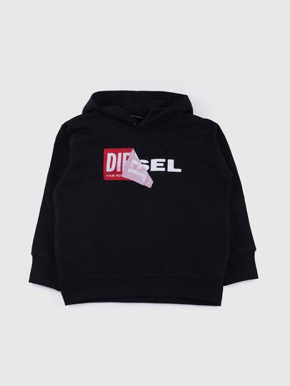 Diesel - SALBY OVER, Schwarz - Sweatshirts - Image 1