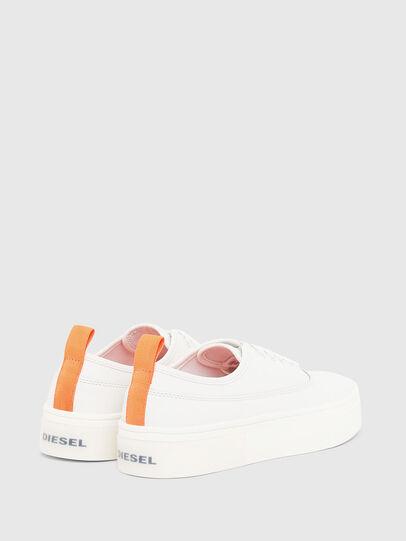 Diesel - S-VANEELA LOW, Blanc/Orange - Baskets - Image 3