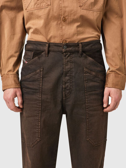 Diesel - D-Franky 09B38, Marron - Jeans - Image 4