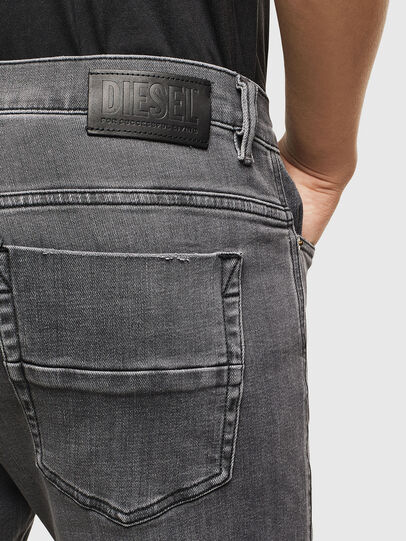 Diesel - D-Amny 009AJ, Schwarz/Dunkelgrau - Jeans - Image 4
