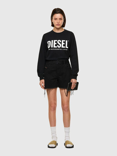 Diesel - DE-REG-R, Schwarz - Kurze Hosen - Image 5