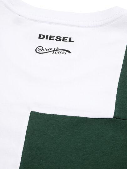 Diesel - D-FRANKENSTEIN 2.1, Weiß/Grün - T-Shirts - Image 5