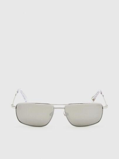 Diesel - DL0308, Weiß - Sonnenbrille - Image 1