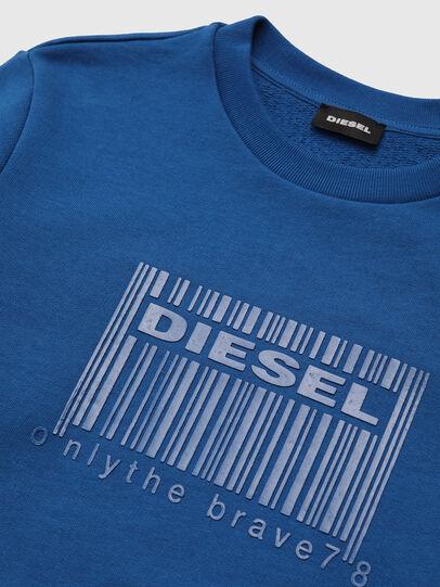 Diesel - SCOLIGCODE OVER, Bleu - Pull Cotton - Image 3