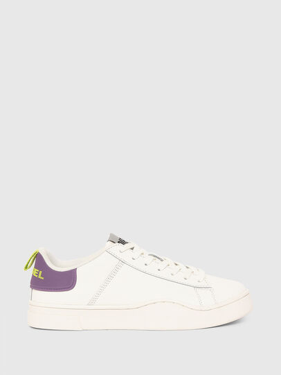 Diesel - S-CLEVER LOW LACE W, Weiss/Violett - Sneakers - Image 1