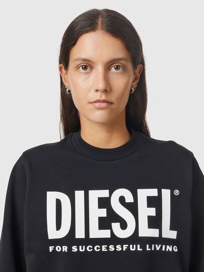 Diesel - F-ANG, Black/White - Sweaters - Image 3