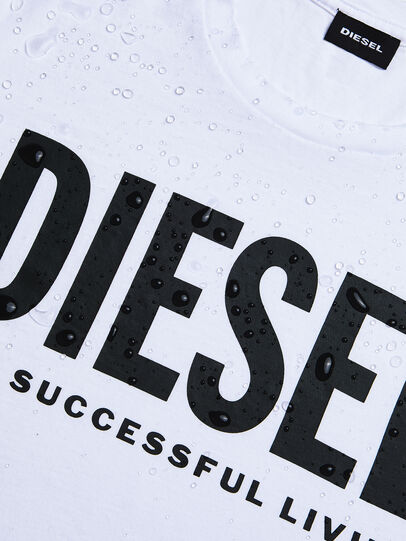 Diesel - T-SILY-WX, Weiß - T-Shirts - Image 3