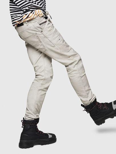 Diesel - Krooley JoggJeans 069GT, Hellgrau - Jeans - Image 5