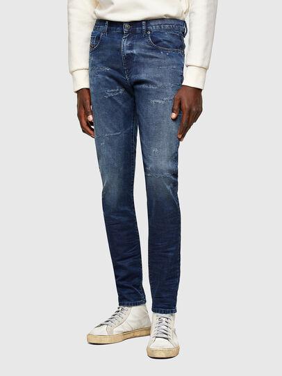 Diesel - D-Strukt JoggJeans® 069SL, Blu Scuro - Jeans - Image 1