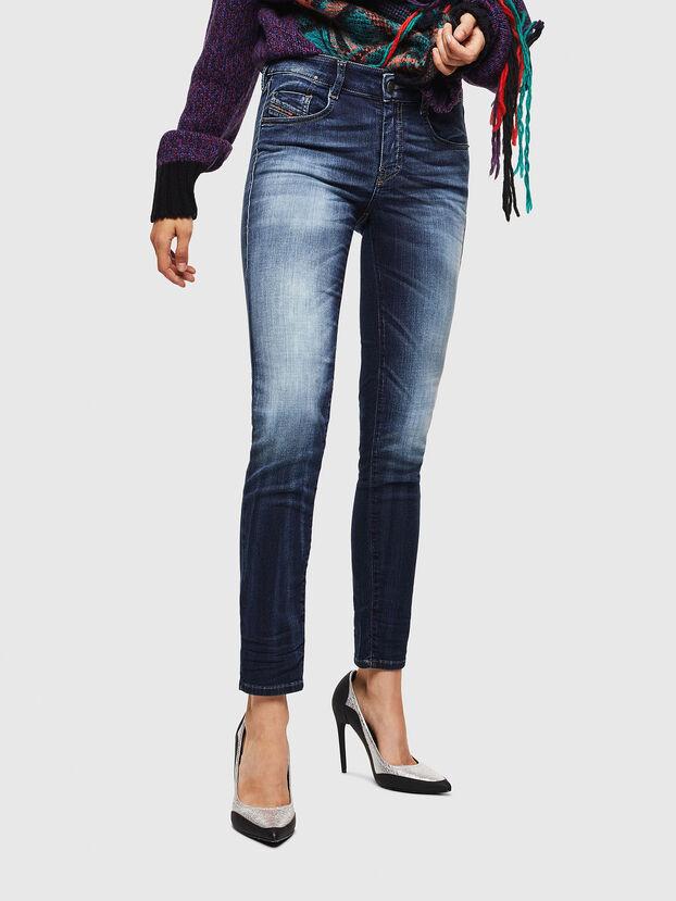 D-Ollies JoggJeans 069IE, Dunkelblau - Jeans