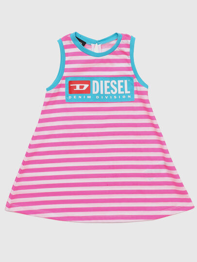 Diesel - DARIETTAB, Rosa/Weiß - Kleider - Image 1