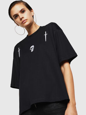 TELIX-A, Schwarz - T-Shirts