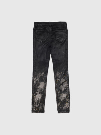 Diesel - SKINZEE-LOW-J JOGGJEANS-N, Schwarz/Dunkelgrau - Jeans - Image 2