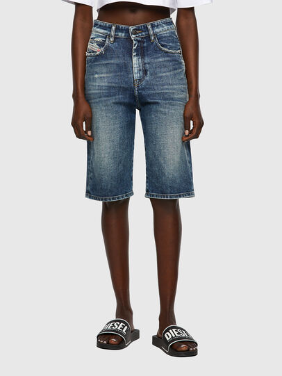 Diesel - DE-LILY-SP, Bleu moyen - Shorts - Image 1