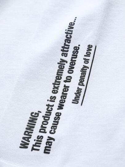 Diesel - THOVERY, Blanc - T-shirts et Hauts - Image 3