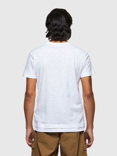 Diesel - T-NORRIE, Bianco - T-Shirts - Image 2