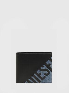 HIRESH S, Schwarz/Blau - Kleine Portemonnaies
