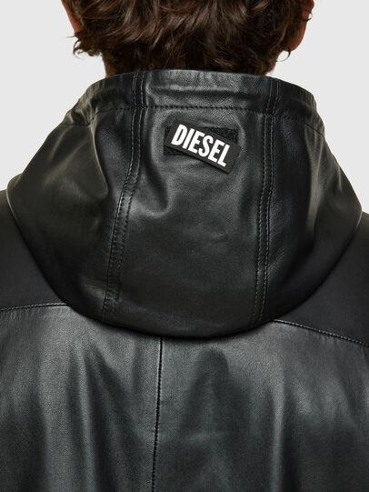 Diesel - L-CIRCLE, Nero - Giacche di pelle - Image 4
