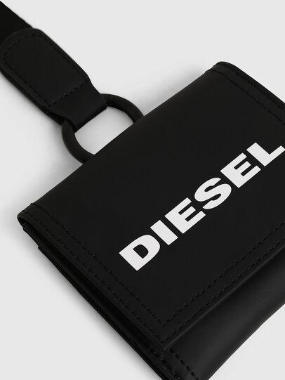 Diesel - YOSHINO LOOP, Schwarz - Kleine Portemonnaies - Image 4