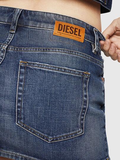 Diesel - DE-EISY, Jeansblau - Röcke - Image 5