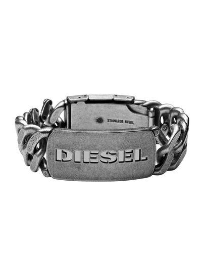 Diesel - BRACELET DX0656, Silber - Armbänder - Image 1
