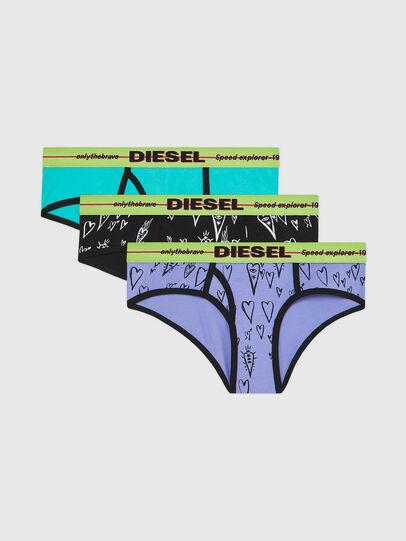 Diesel - UFPN-OXY-THREEPACK, Grün/Schwarz - Panties - Image 1