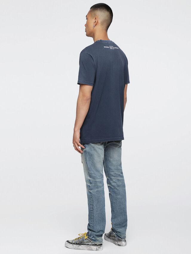 Diesel - T-KEITHS, Blau - T-Shirts - Image 4