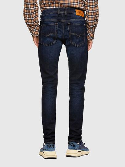 Diesel - Sleenker 009EY, Bleu Foncé - Jeans - Image 2