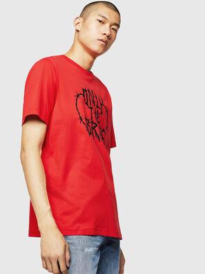 T-JUST-B23, Feuerrot - T-Shirts