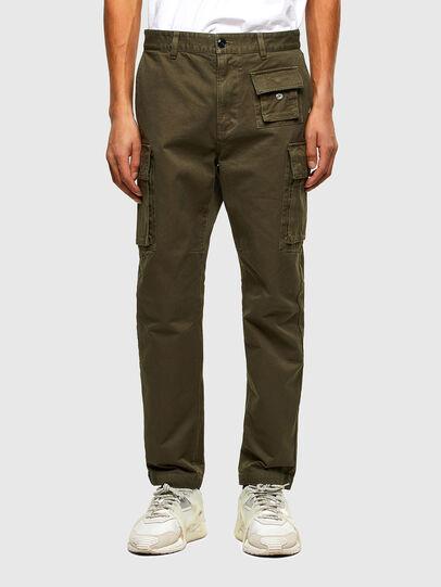 Diesel - P-COR, Vert Militaire - Pantalons - Image 1