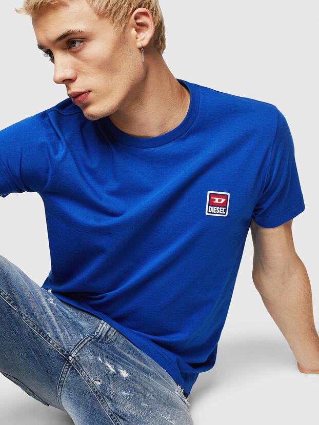 T-DIEGO-DIV, Brillantblau - T-Shirts