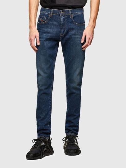 Diesel - D-Strukt 009NV, Bleu Foncé - Jeans - Image 1