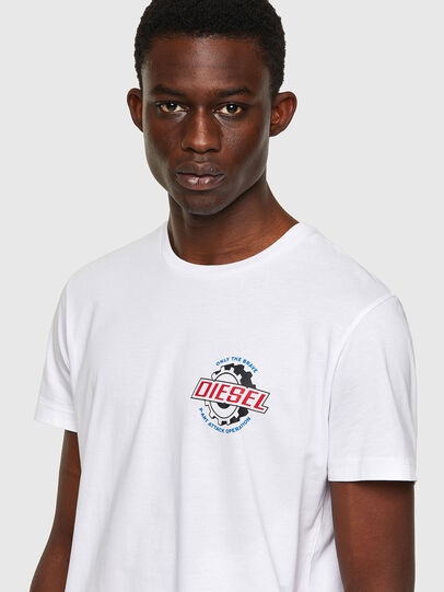 Diesel - T-DIEGOS-K23, White - T-Shirts - Image 3