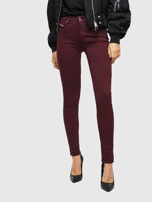 D-Roisin 0096H, Bordeauxrot - Jeans