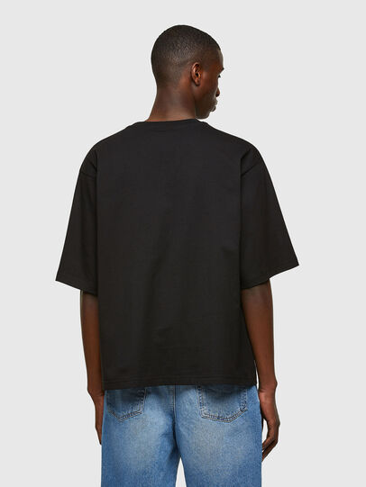 Diesel - T-DELPHI-E1, Nero - T-Shirts - Image 2